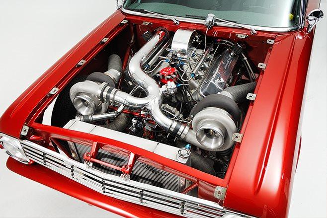 Ford Futura engine bay