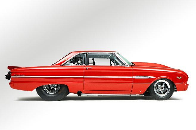 Ford Falcon Futura side