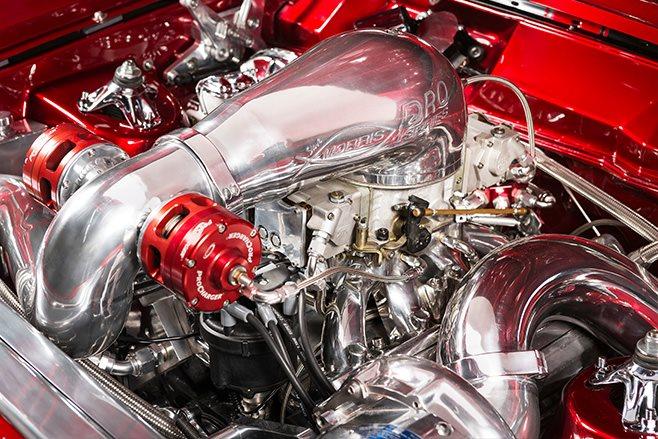 Ford Falcon XY engine