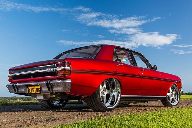 Ford Falcon XY rear