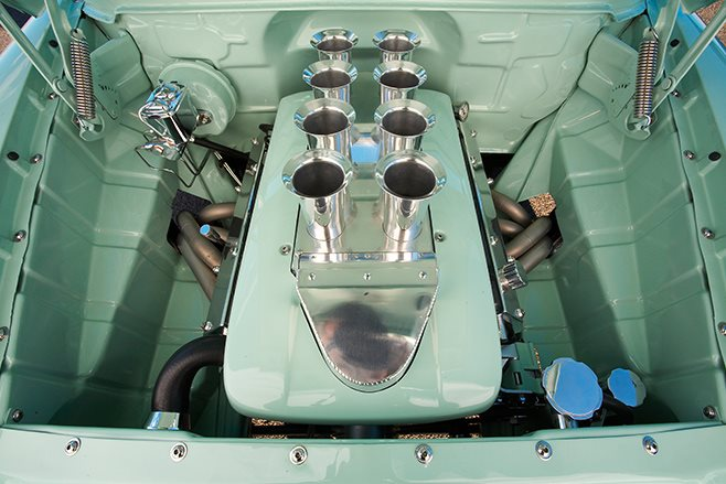 Holden FC Station Sedan engine