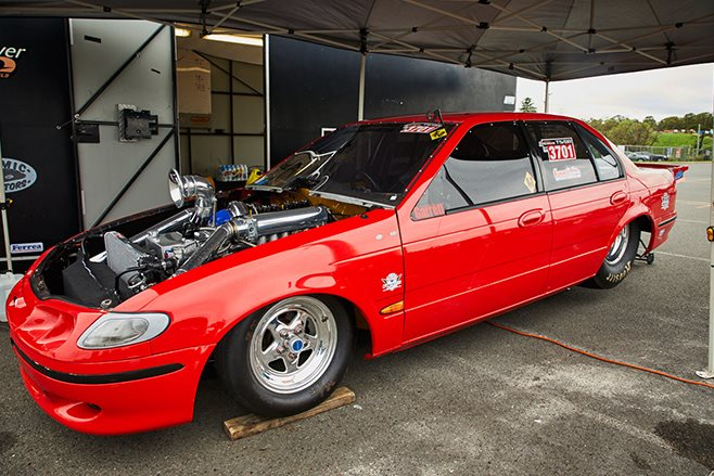 Ray Fairfull's Ford EL Falcon