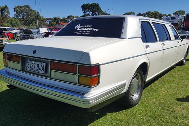 Rolls Royce rear