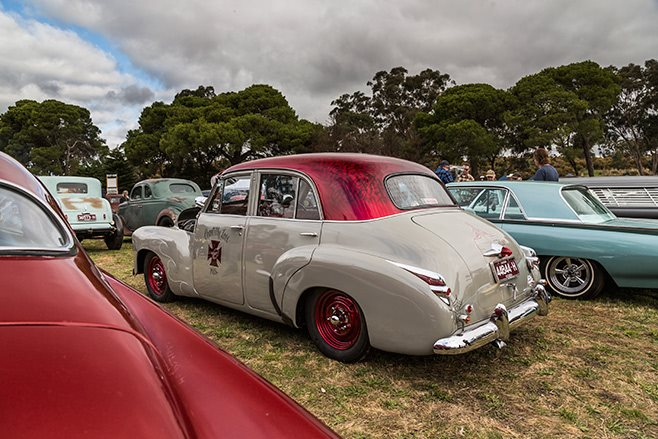 Chantilly Lace Holden FJ