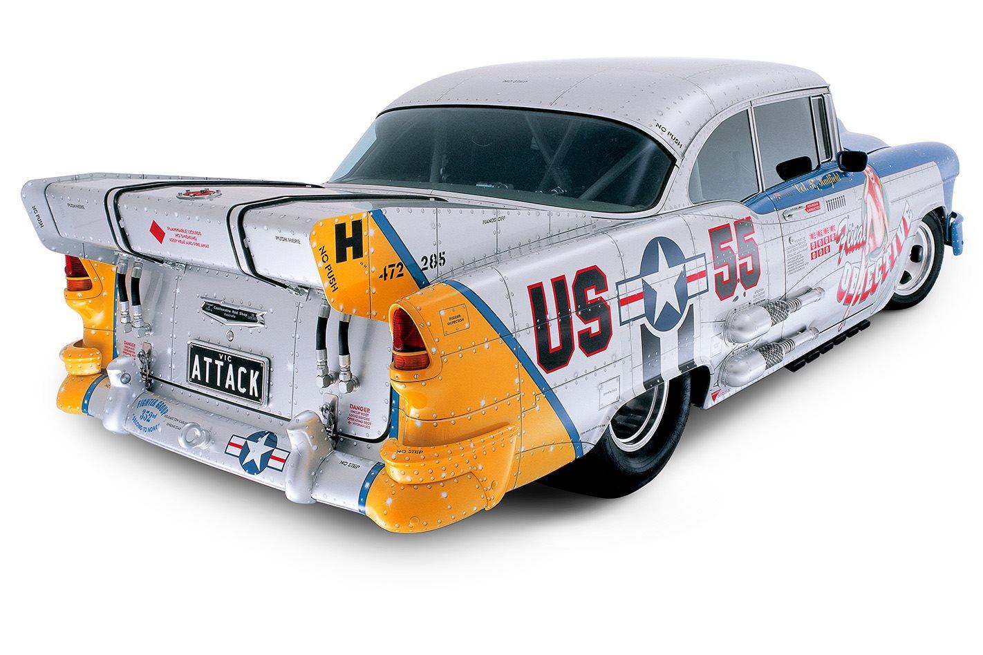 1955 Chevrolet Massive Attack rear