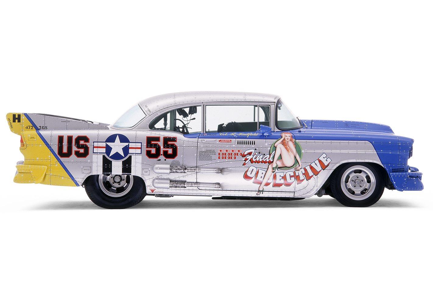 1955 Chevrolet Massive Attach side view