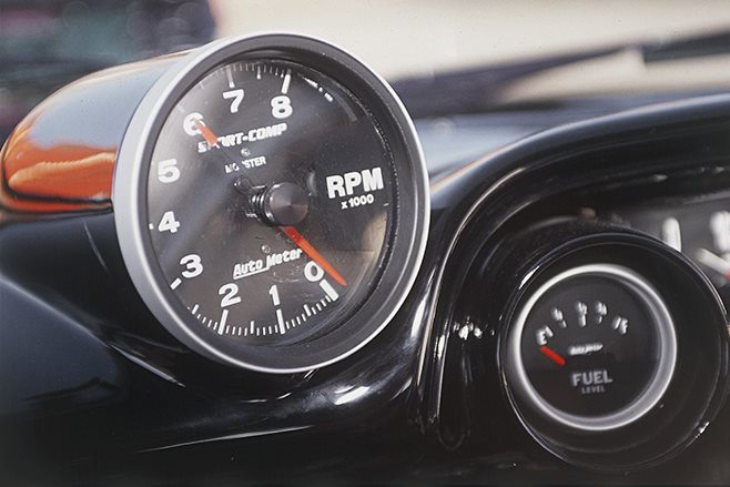 1964 Ford Galaxie gauges