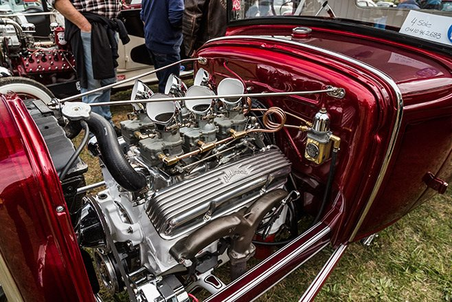 1930 Ford pickup engine