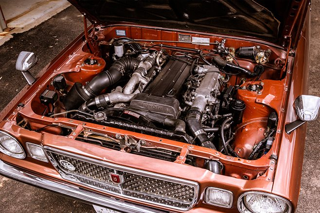 Toyota Cressida engine bay