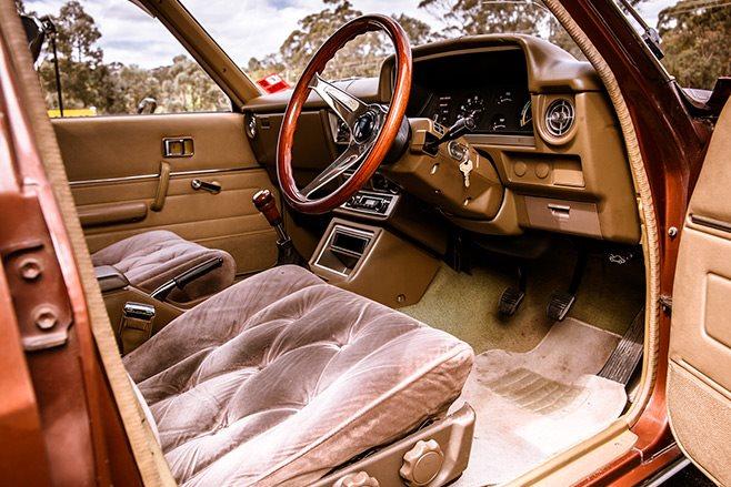 Toyota Cressida interior