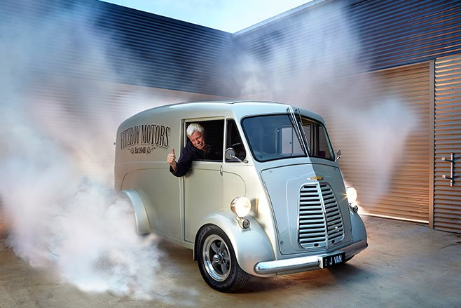 Holden V6 Powered Morris Commercial J Type Van