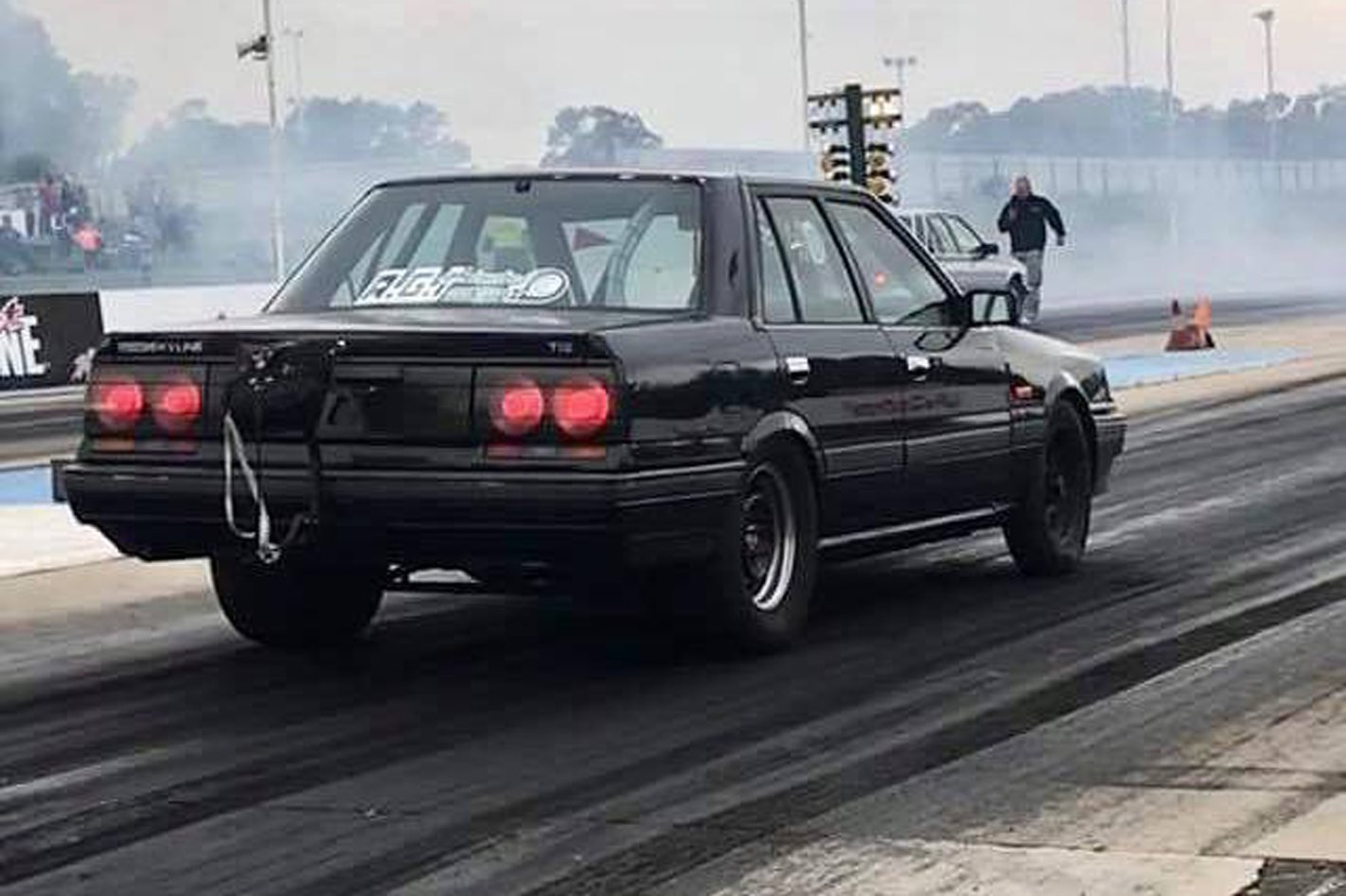 eight-second 940rwhp rb30-powered r31 skyline – video