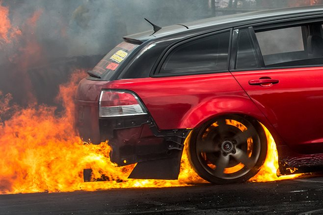 burnout fire