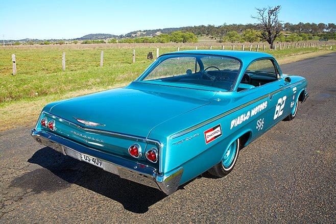 Chevrolet Bubbletop rear