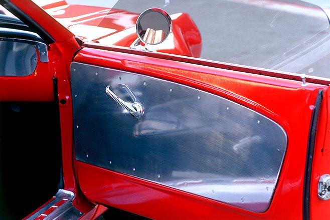 Ford Mustang door trim