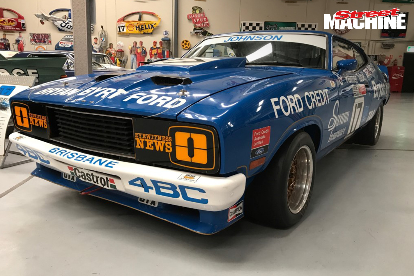 Genuine Ex Race Cars From The Golden Era Of Australian Motorsport Are Rarely Offered Particularly One With Such An Iconic Name As Dick Johnson Associated