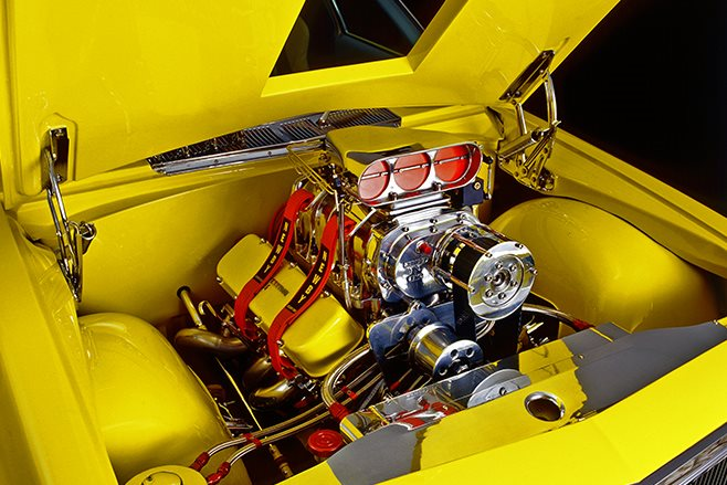 HQ One Tonner engine bay