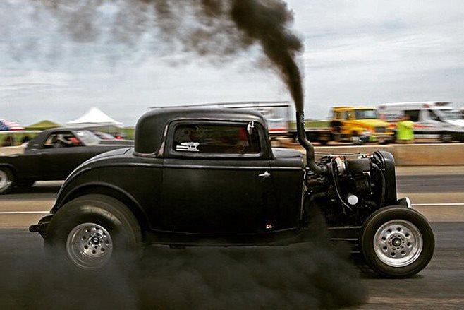 nitrous-fed twin-turbo 1932 coupe