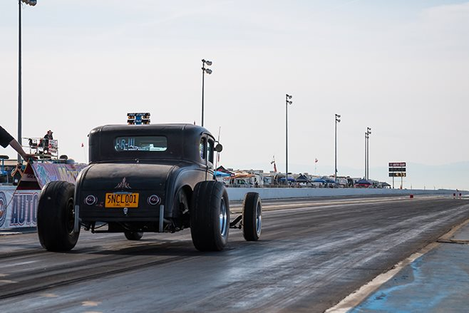 Dave Walker's 1930 Ford coupe
