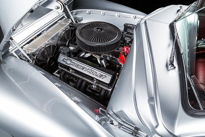 Holden FJ engine bay