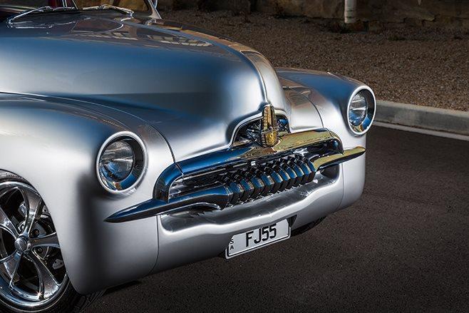 Holden FJ front detail