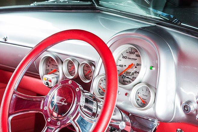 Holden FJ gauges