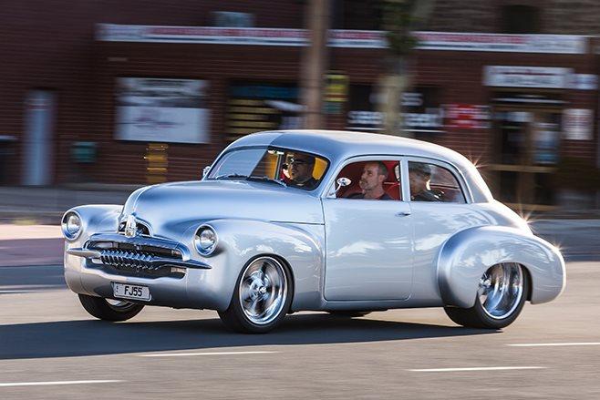 Holden FJ onroad