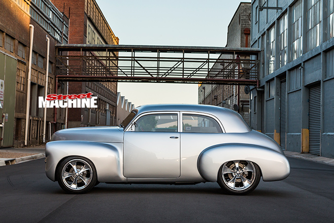 Holden FJ side