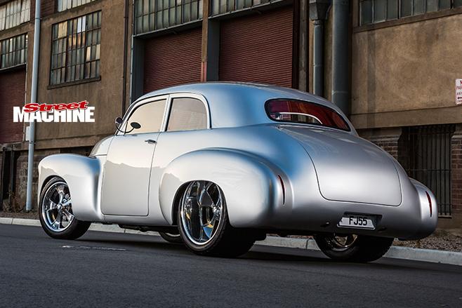 Holden FJ rear angle