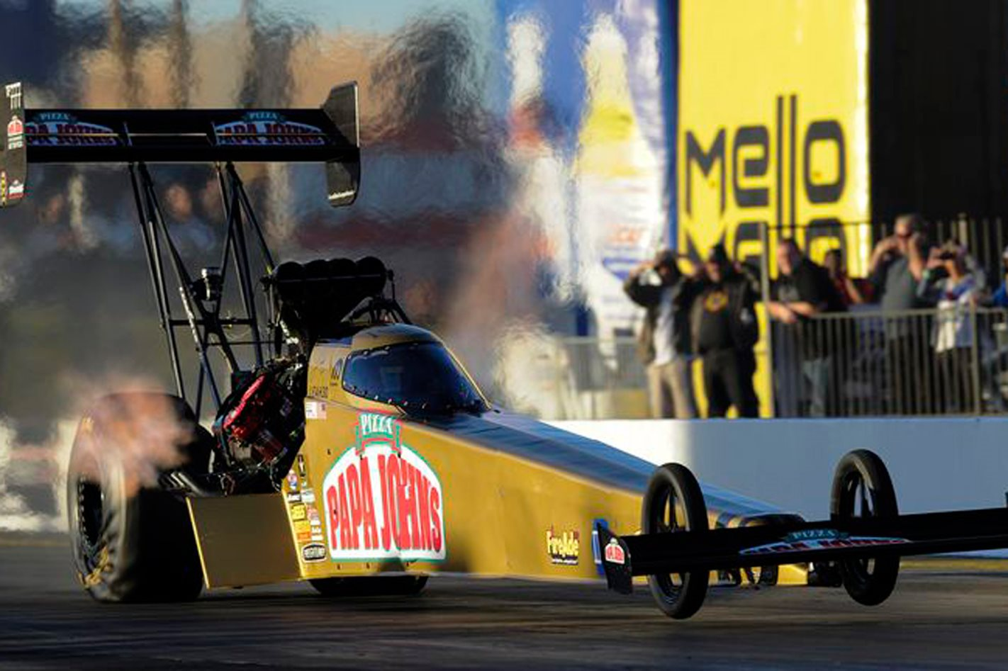 HOW TO DRIVE A 3.6-SECOND TOP FUEL CAR - VIDEO