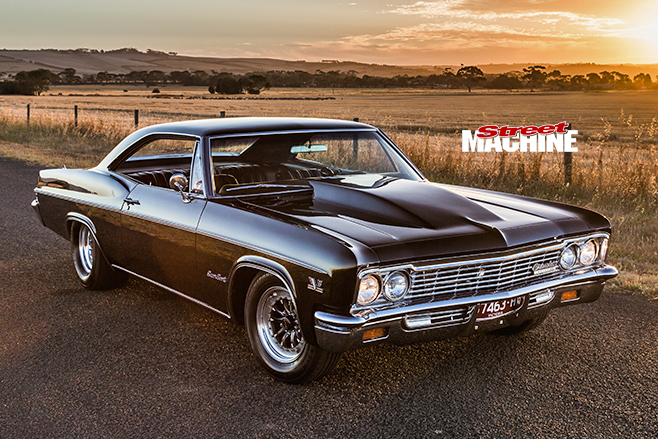 chev impala front