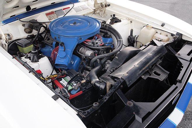 Ford Falcon XC Cobra engine