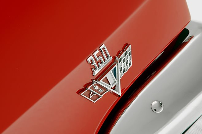 Holden HK Monaro 350 badge