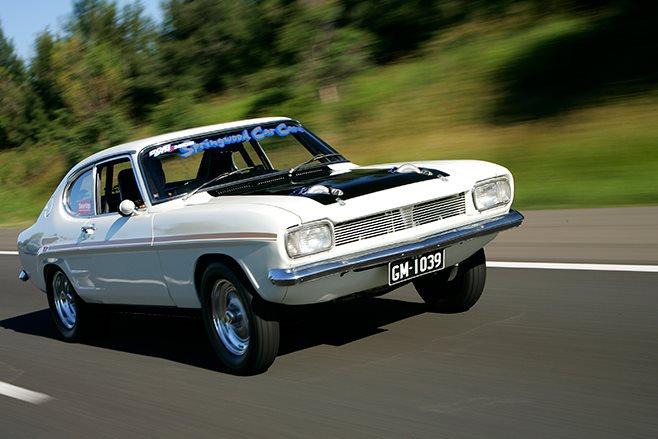 Ford Capri onroad