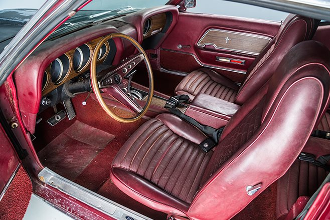Project Mustang interior