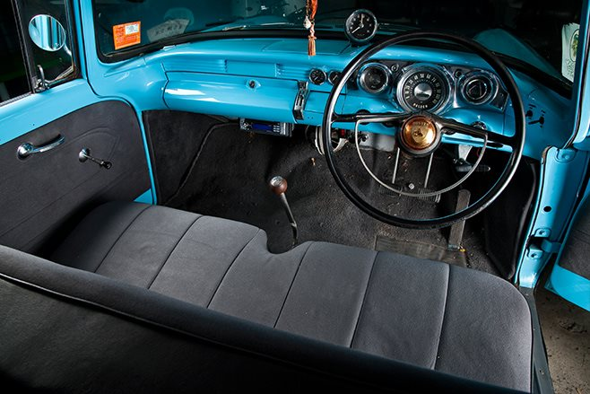 Holden FB interior