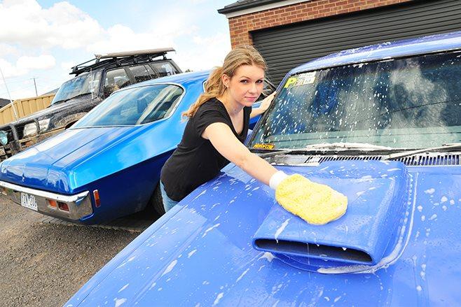 car wax coating