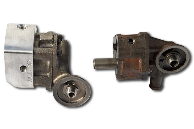 Hecules oil pump