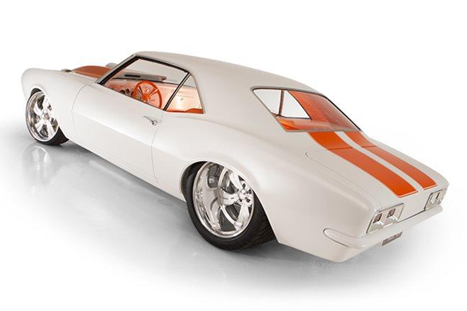 Chevrolet Camaro rear angle