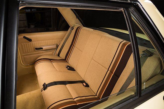 Ford XE Falcon interior rear