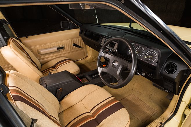 Ford Falcon XE interior front