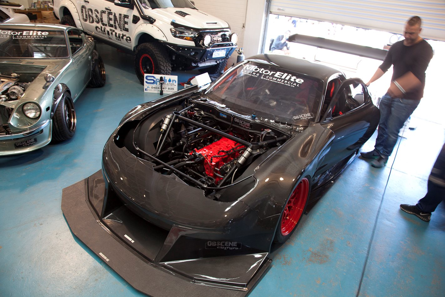QUAD-ROTOR MAZDA RX-7 TIME WEAPON – VIDEO