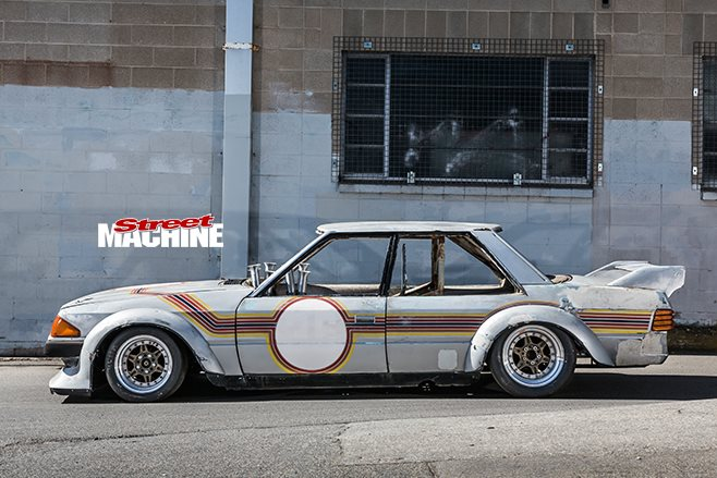 Tube Chassis XE Falcon side