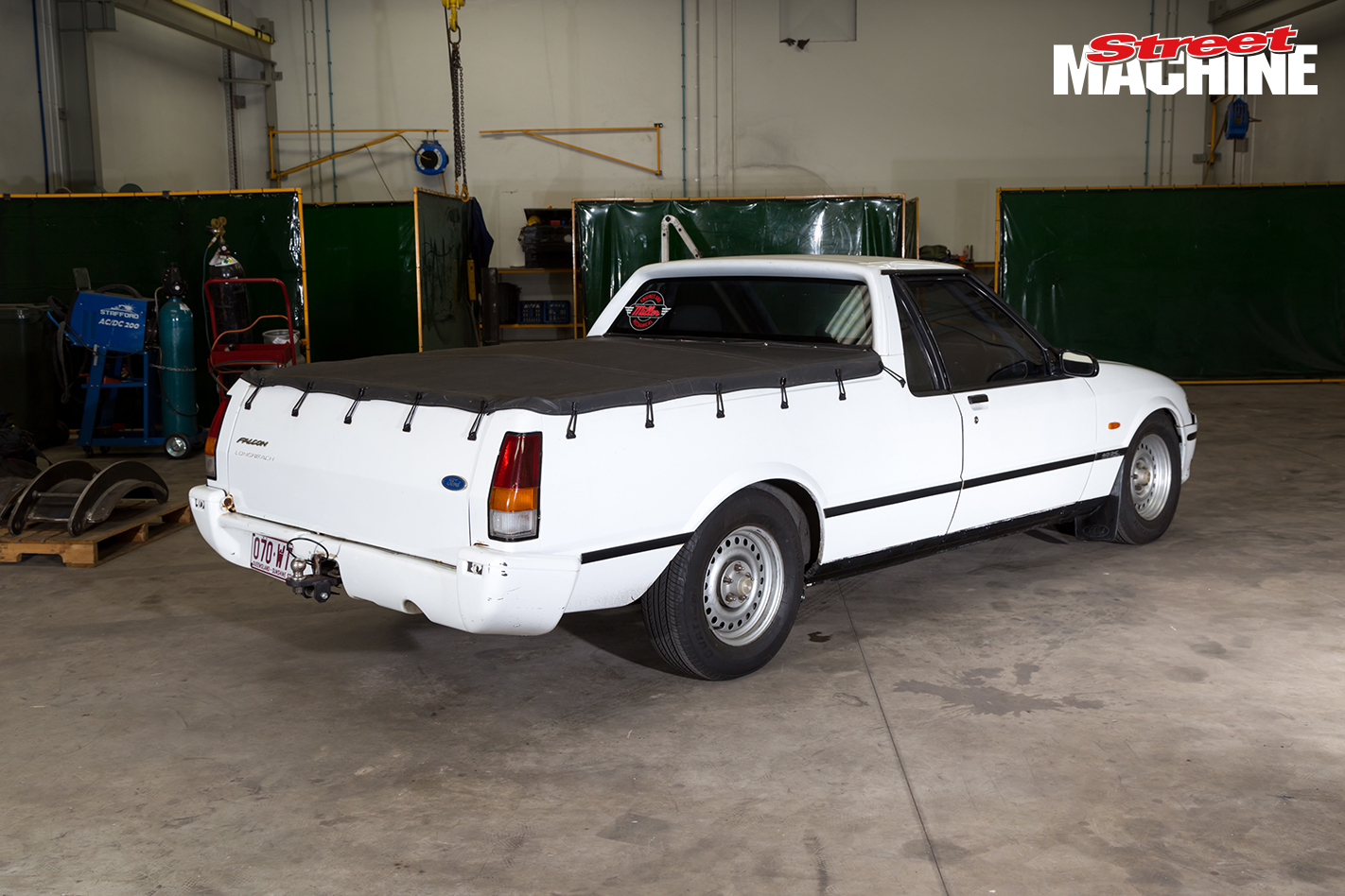 8-SECOND TWIN TURBO LS-POWERED XH FALCON UTE HEADING TO DRAG ... on