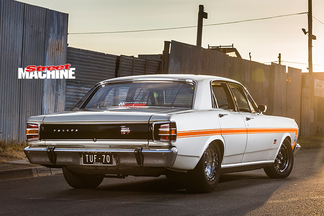 Ford Falcon XW GT rear