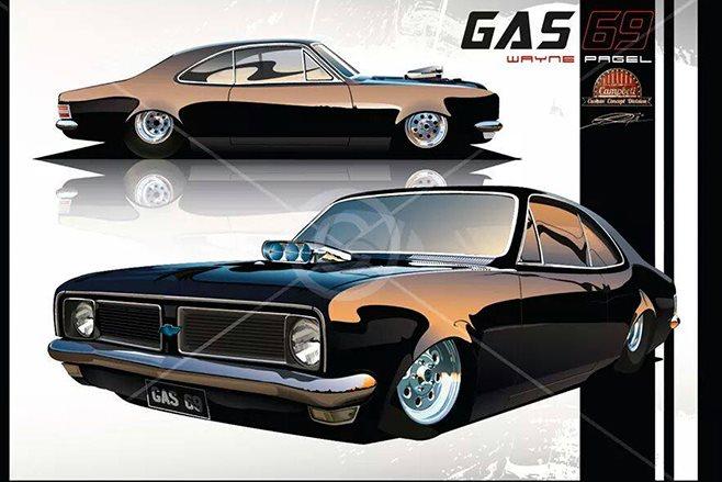 GAS69 Monaro