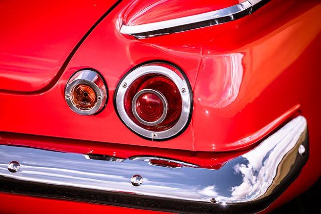 Chrysler S Series Valiant detail