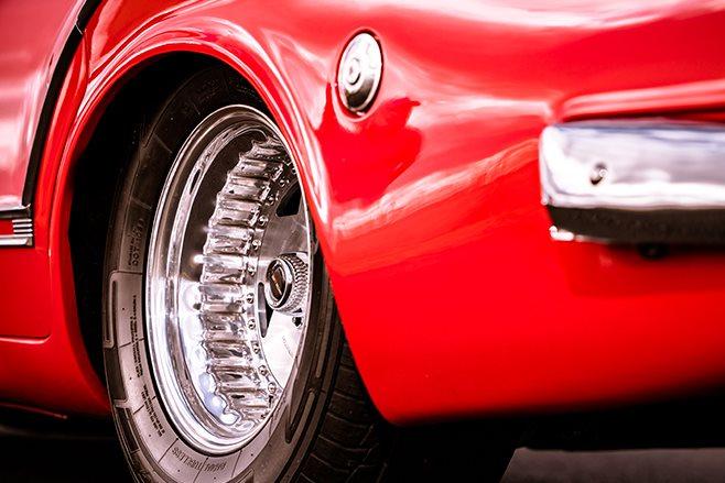 Chrysler S Series Valiant wheel