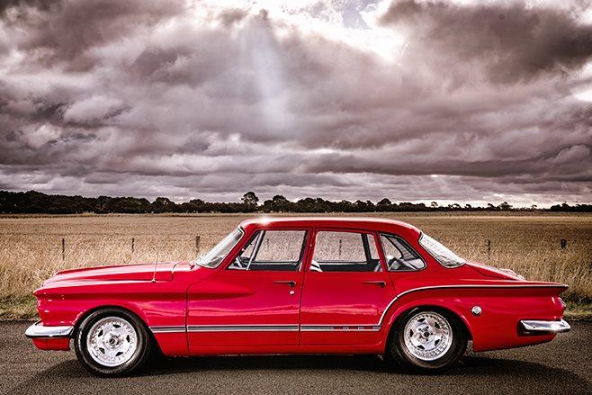 Chrysler S Series Valiant side