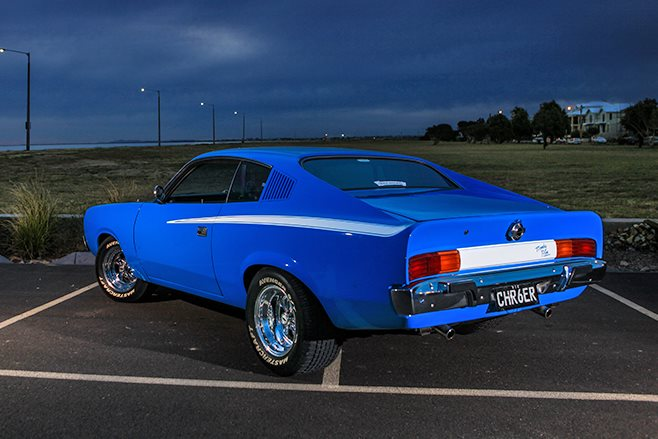 Chrysler Charger rear